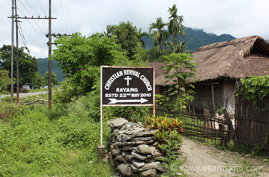 Churches of Arunachal Pradesh