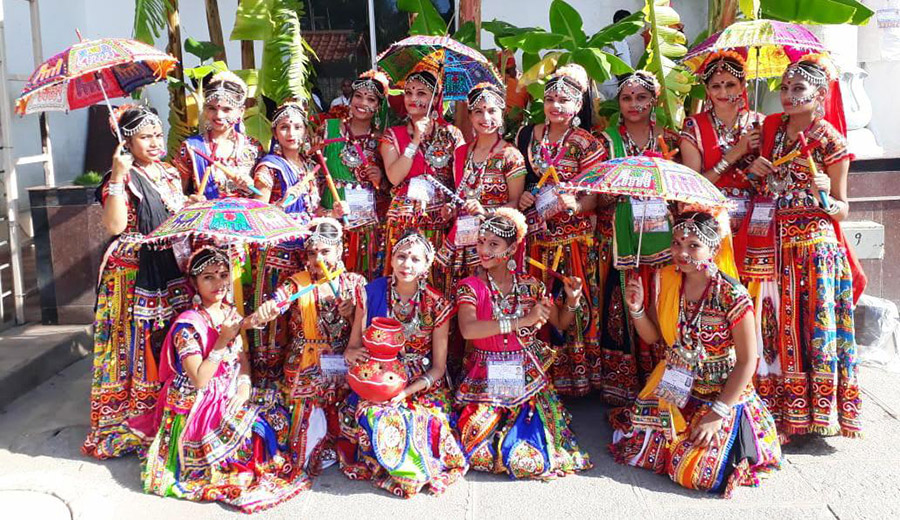 Rhythms of Manipur in Tirupati