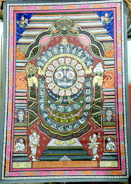 Pattachitra Paintings Raghurajpur