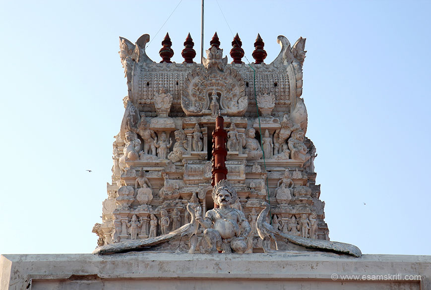 Murugan Temple Thiruchendur
